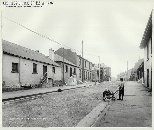 Gloucester Street looking north from Essex Street, The Rocks (NSW) | Flickr - Photo Sharing!
