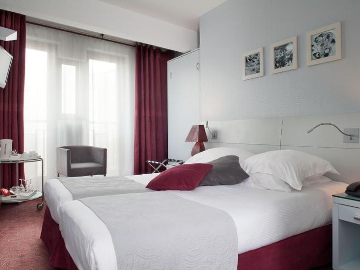 Paris Hotel Paris Bastille France, Europe Stop at Hotel Paris Bastille to discover the wonders of Paris. The hotel offers a wide range of amenities and perks to ensure you have a great time. Facilities like free Wi-Fi in all rooms, daily housekeeping, fax machine, postal service, printer are readily available for you to enjoy. Comfortable guestrooms ensure a good night's sleep with some rooms featuring facilities such as television LCD/plasma screen, internet access – wireless...