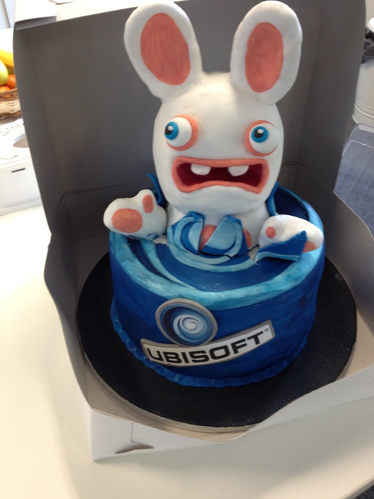 Rabbids Cake @ Ubisoft Belgium