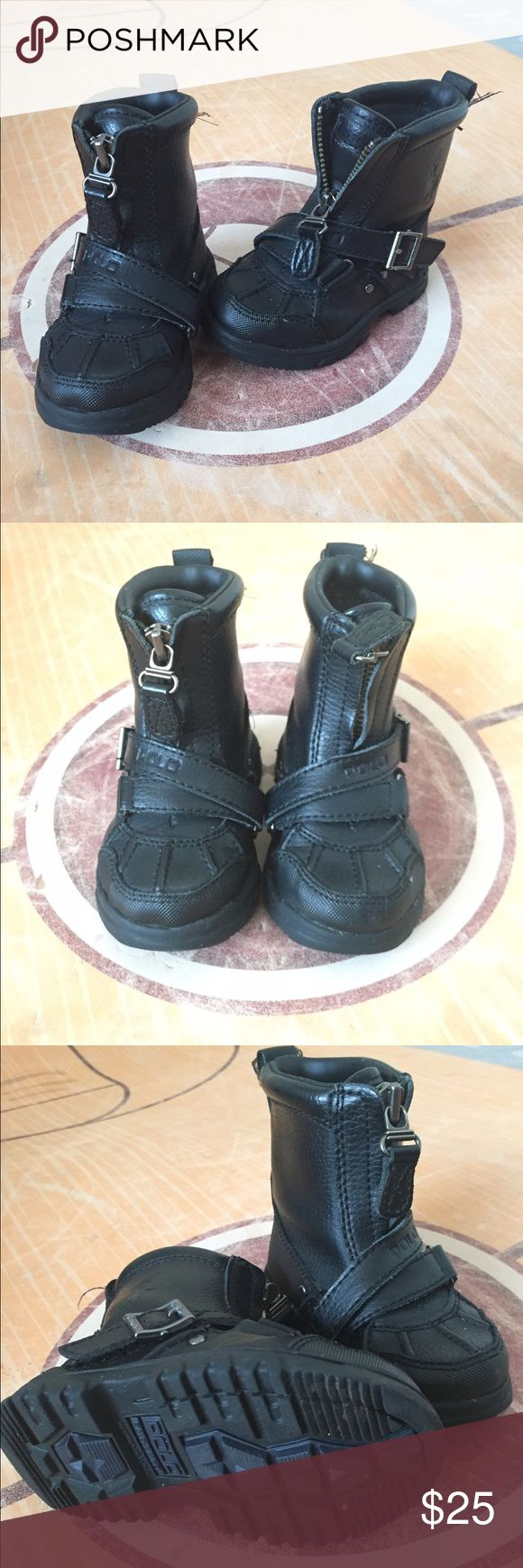 Polo Ralph Lauren Boots Excellent condition! Great for the upcoming months Polo by Ralph Lauren Shoes