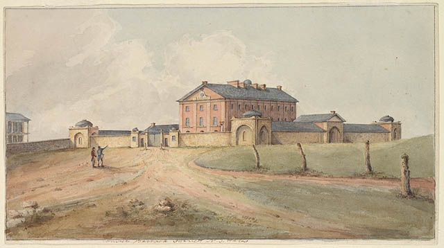 Convict Barrack Sydney N.S. Wales [ca. 1820]