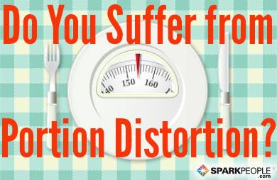 If you want to know what a single portion of a food really looks like, this is the guide for you! via @SparkPeople