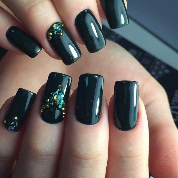 Beautiful nails 2016, Evening dress nails, Exquisite nails, Festive nails, Long…