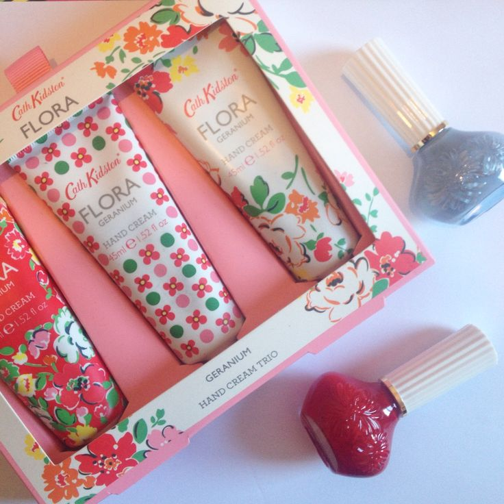 Gorgeous Cath Kidston hand creams and Paul and Joe nail polishes from the access all Asos secret Santa!