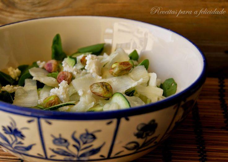 Salada de Funcho e Curgete