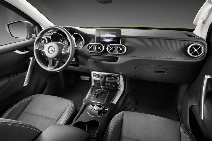 Mercedes dévoile son premier pick-up, le Classe X - le blog auto