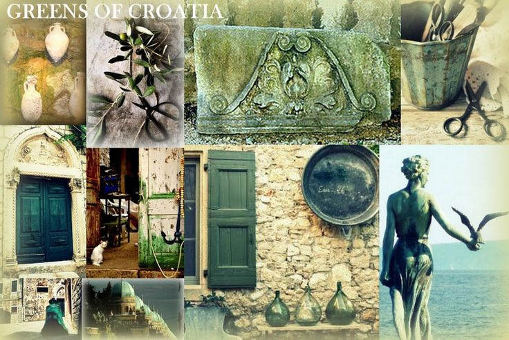 "Croatia's Green Colours with interpreted by man. Contact us at info@discovercroa... to plan your Bespoke trip to Croatia! - We will convert your "" MUST HAVE HOLIDAY"" into reality - that will then be a cherished experience to store in your memory bank. Forever."