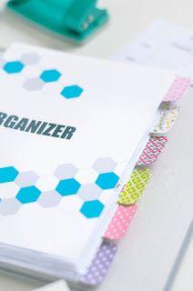 DIY Planer - organizer do wydrukowania
