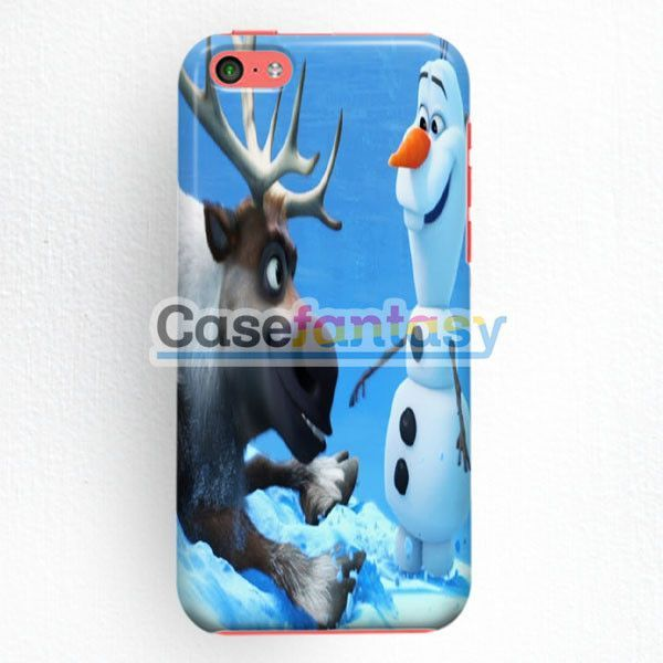 Sven And Olaf Funny Cartoon iPhone 5C Case | casefantasy