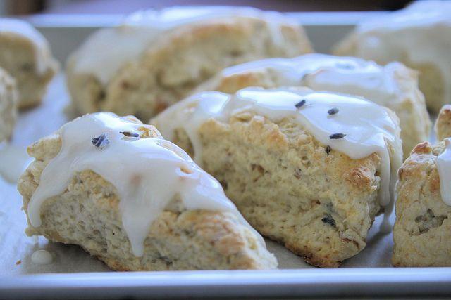 Lavender Walnut Scone recipe   An Edible Bouquet   Pinterest