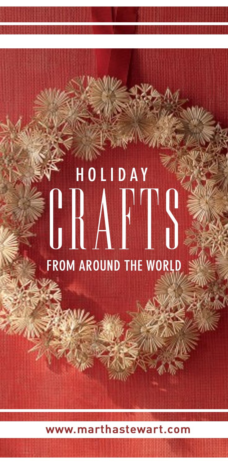 Every year, the holidays remind us of how ever-evolving the American melting pot really is. Customs once carried across oceans and over borders by loved ones get handed down, passed around, and played with. Here are six such homemade adaptations and festive interpretations of international motifs, all of them long on impact and short on time commitment and cash outlay.