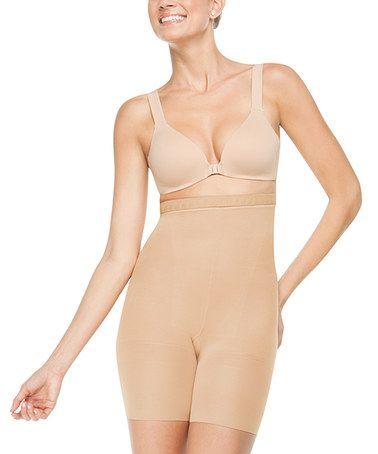 Loving this New & Slim-Proved Higher Power High-Waist Shaper Shorts - Barest on #zulily! #zulilyfinds