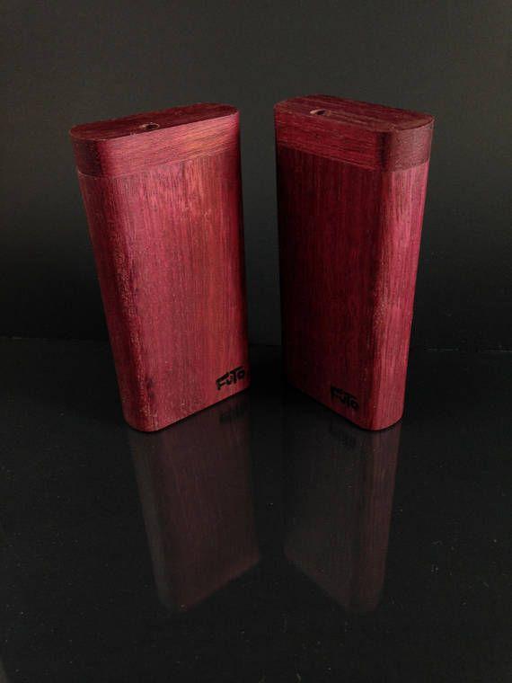 Futo X  Purpleheart Dugout   Smoking Box  Made in Canada