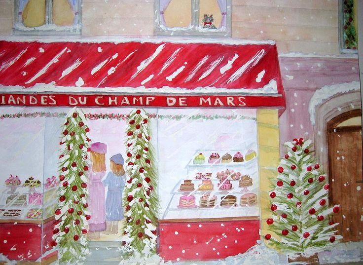 Parisian Bakery Painting