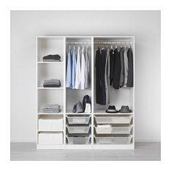 Combinazioni senza ante - PAX guardaroba componibile - IKEA