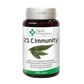 A REG Program – 21 C Immunity készítményben található vitaminok és ásványi anyagok segíthetnek megőrizni életerőnket, illetve serkenti a szervezet védekezőképességét, hogy az megfelelően védekezzen a külső környezeti hatásokkal szemben.