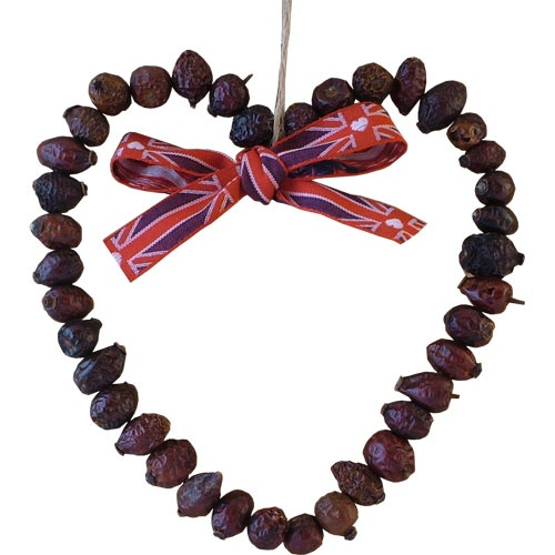 Rosehip heart - Happy Valentine's Day!