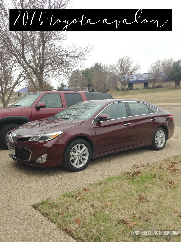 Car Review: 2015 Toyota Avalon Review...this car drives like butter!