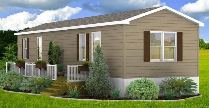 Mobile home rendering porch pinterest house house paint exterior and porch Landscape design ideas mobile home