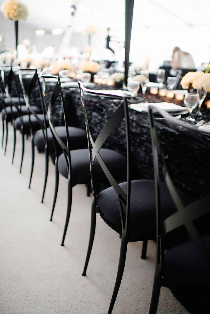 Black and white wedding decor ideas   best black and white weddings images on Pinterest  Weddings