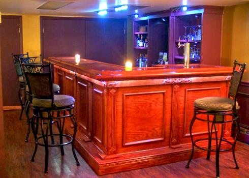 Home Bar Photo Gallery - See what our customers have built.