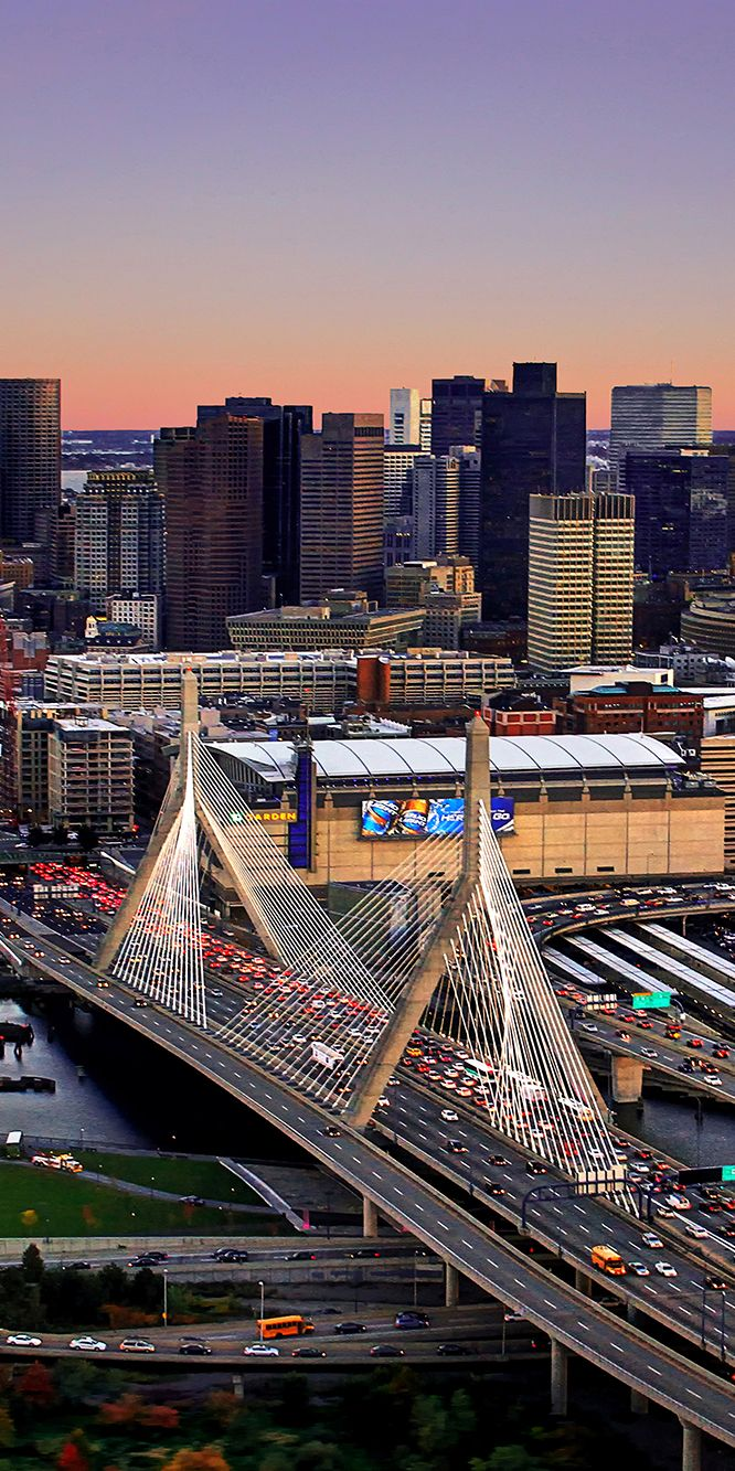 Airborne Over Zakim Bridge by Xynn Tii | #xynntii | http://xtii.com
