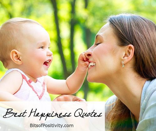 Best Happiness Quotes (includes word-art freebie)