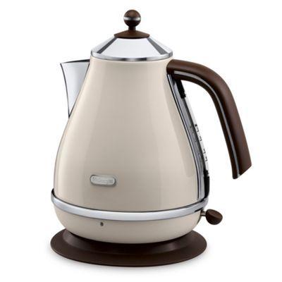 DeLonghi Delonghi KBOV3001.BG cream Vintage Icona jug kettle- at Debenhams.com