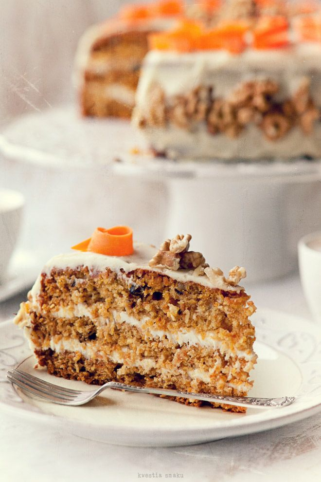 Tort marchewkowy - Przepis