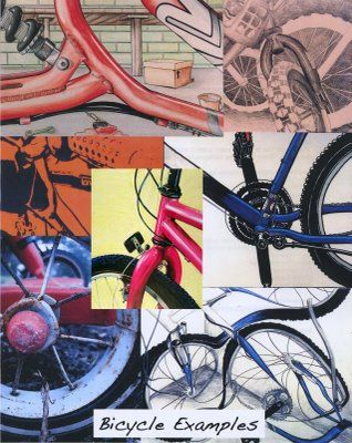 Bicycle Assignment. line, shape, value, and style Wesite full of AP lessons