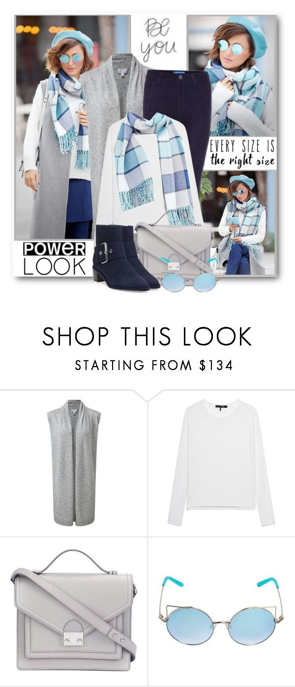 Signature Power Look by brendariley-1 on Polyvore featuring мода, Pure Collection, rag & bone, Stuart Weitzman, Loeffler Randall, Linda Farrow, M.i.h Jeans, Børn and powerlook