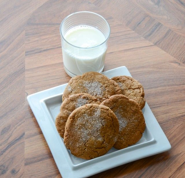 Gingeriest Ginger Molasses Cookies http://indianinfluence.ca/gingeriest-ginger-molasses-cookies/