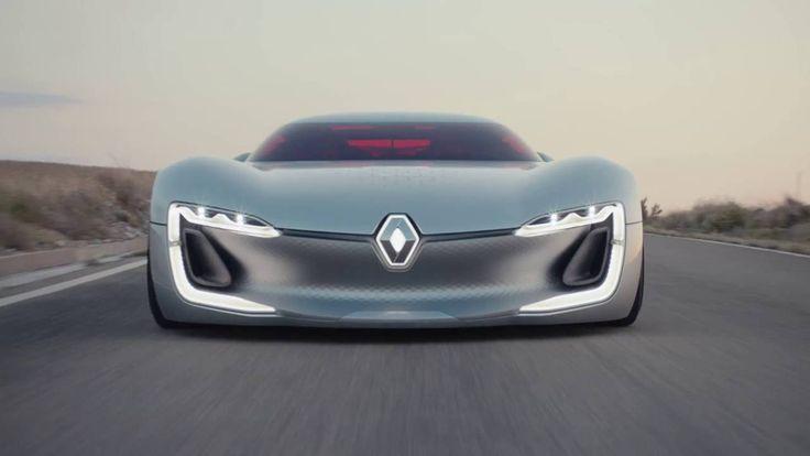 Renault TREZOR: an electric GT // Renault TREZOR : une GT électrique