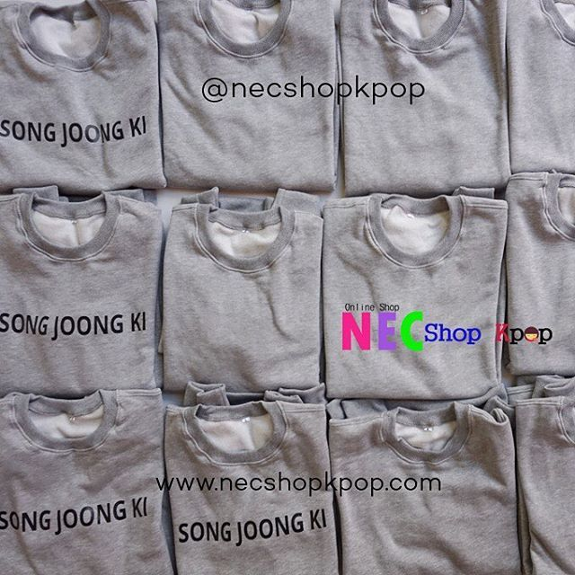 ARRIVED #NEC_Series1to10 -MUST HAVE ITEM- Product Code : Song Joong Ki Love Today 9 Level Series 1 To 10 Sweater Price : IDR 150.000/ USD 14 Material : Cotton Flace , Sablon (Hight Quality, tidak panas,tekstur halus dan menyerap keringat) FOR...