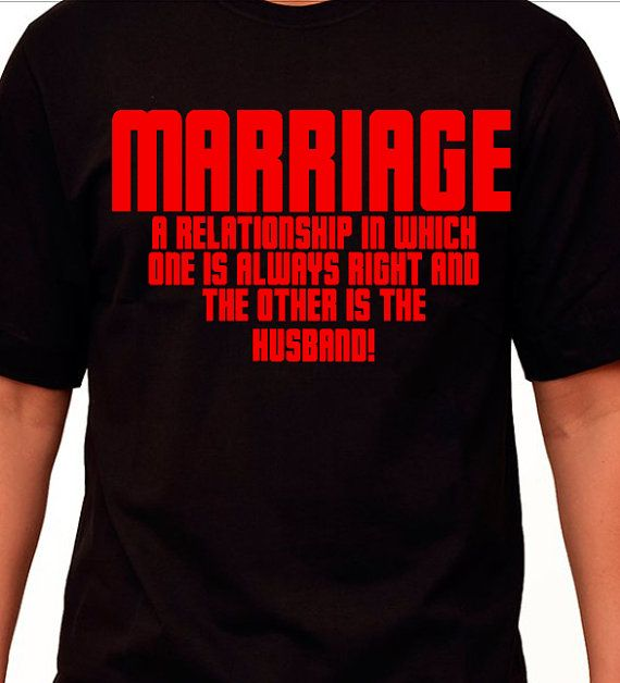 Marriage Womens Clothing Funny Adult shirts  by VinylDecalShoppe