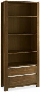 Bentley Designs Casa Walnut Bookcase - Wide