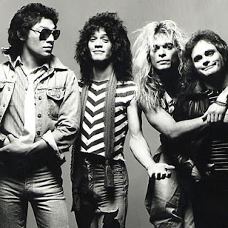 """Van Halen. Let's hear it for 1984: Top Jimmy, Hot for Teacher, Drop Dead Legs, Jump, Panama... those were some darn good tunes. And of course, earlier Van Halen wasn't too shabby either. Can I get a """"Heck Yeah!"""" for Ice Cream Man?"""