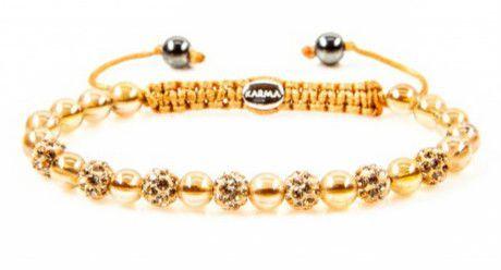 a918d93c9368 Pulsera Karma para mujer. Las pulseras de piedras naturales color dorado y  plata son ideales