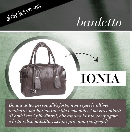 Qual è la tua borsa preferita? Bauletto, borsa elegante, cartella da lavoro, pochette, sacca morbida, secchiello, shopping bag...  Dicci che borsa preferisci e ti diremo chi sei!