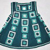 Купить Сарафан для девочки Ярмарка Мастеров - ручная работа, handmade