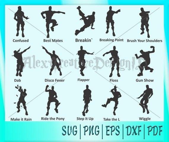 Fortnite Dances Fortnite Character Dance Graphic Design Programs