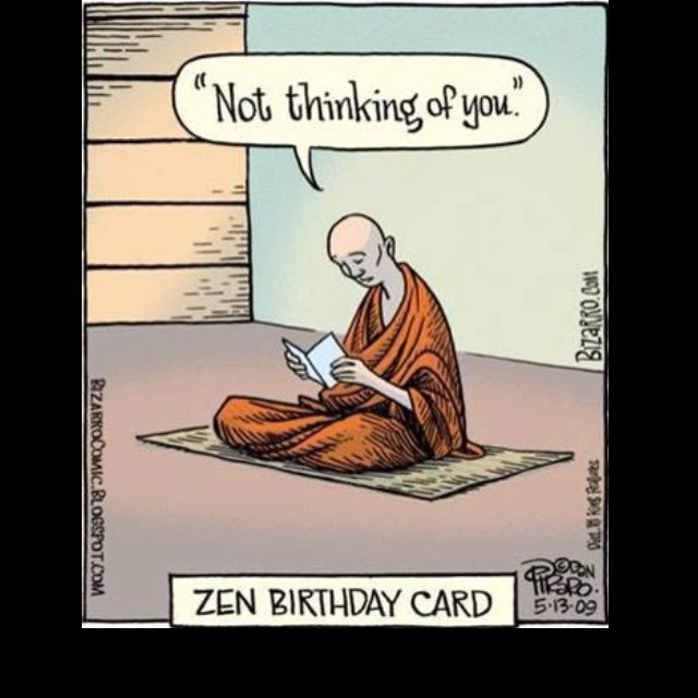 Zen humor, love it!
