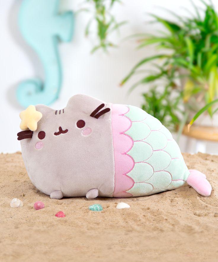Mermaid Pusheen Plush Toy – Hey Chickadee