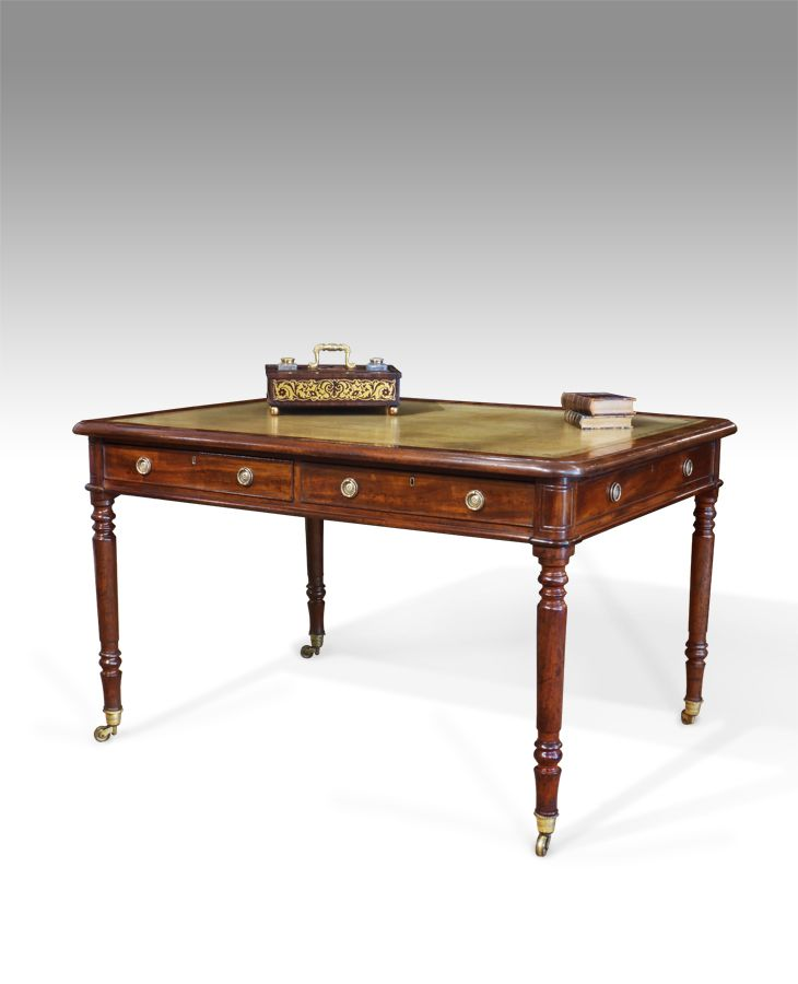Antique library table. 62 best Antique Furniture for the Study images on Pinterest