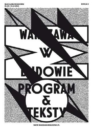 Warszawa w Budowie. Program i tekst