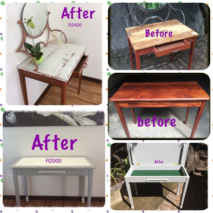 Before and after table transformation