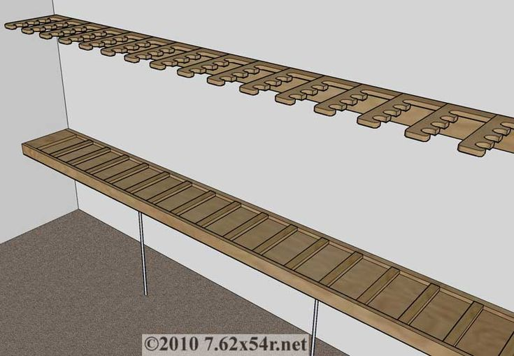 Vertical Wall Gun Rack Plans WoodWorking Projects amp