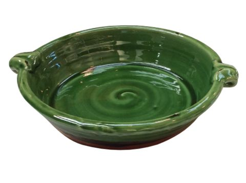 Open Bowl With Handle Rustic