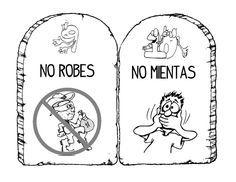 10 mandamientos para niños | Primariolandia
