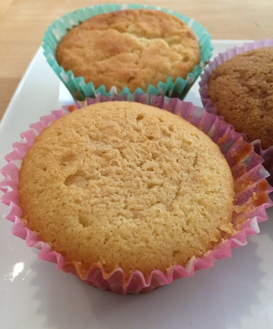 Vanilla cupcakes 3-ways. Made with Coconut sugar, Stevia & Rice Malt Syrup. Check out bakeswap.com for the results and the recipe!  @BakeSwap #bakeswap #happybakeswapping #anyonecanbakeswap